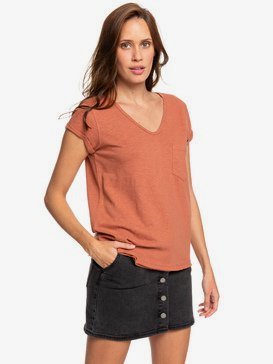 Perfect Kind Of Session - V-Neck Pocket T-Shirt for Women  ERJZT04639