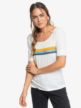 All Good Baby - Rib Knit Short Sleeve Top for Women  ERJZT04648