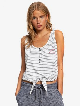 Enjoy The Party - Tie-Front Vest Top  ERJZT04826