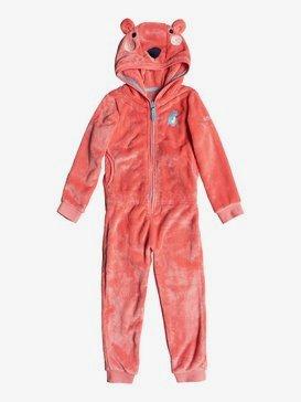 Cozy Up - Faux-Fur Fleece Onesie for Girls 2-7  ERLFT03141