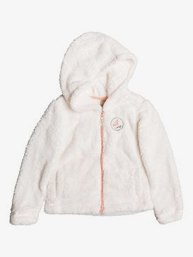 Shooting Stars - Zip-Up Polar Fleece Hoodie for Girls 2-7  ERLPF03011