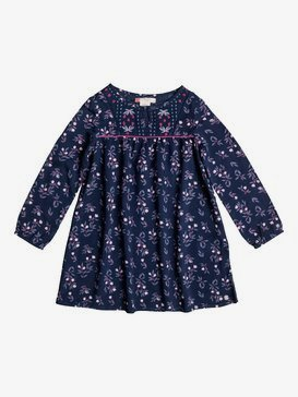 Waiting For You - Long Sleeve Dress for Girls 2-7  ERLWD03026