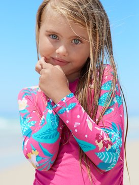 Magical Sea - Long Sleeve UPF 50 Rash Vest Set for Girls 2-7  ERLWR03140