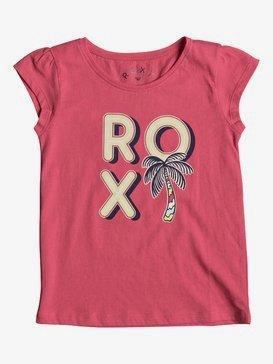 Moidti Palm Tree - Cap Sleeve T-Shirt for Girls 2-7  ERLZT03122