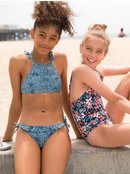 Shells Of Sea - Crop Top Bikini Set for Girls  ARGX203089