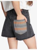 Kissing The Swell - Denim Shorts for Women  ARJDS03029