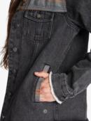Something New - Hooded Denim Jacket for Women  ARJJK03055