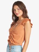 Flirty Vibe - V-Neck Top for Women  ARJKT03312