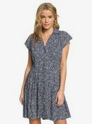 Sunny Days Ahead - Short Sleeve Pleated Dress for Women  ARJWD03272