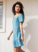 Pale Sun Rose - Short Sleeve Mini Dress for Women  ARJWD03422