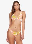 Wildflowers - Reverisble Elongated Tri Bikini Top for Women  ARJX303511