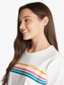 Retro Stripe - Boyfriend T-Shirt for Women  ARJZT07002