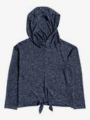 Concha Blanca - Long Sleeve Hooded Top  ERGKT03140