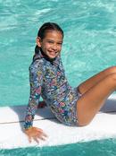 1.5mm Marine Bloom - Front Zip Springsuit for Girls  ERGW403021