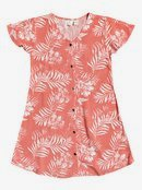 Little Light - Short Sleeve Buttoned Dress for Girls 4-16 ERGWD03121