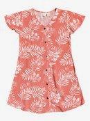 Little Light - Short Sleeve Buttoned Dress for Girls 4-16  ERGWD03121