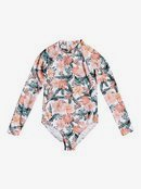 Love Is Big - Long Sleeve UPF 50 One-Piece Rashguard for Girls 8-16  ERGWR03202