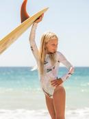 Lovely Senorita - Long Sleeve UPF 50 One-Piece Rashguard for Girls 8-16  ERGWR03231