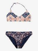 Heart In The Waves - Triangle Bralette Bikini Set for Girls 8-16  ERGX203198