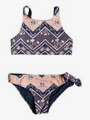 Heart In The Waves - Crop Top Bikini Set for Girls 8-16  ERGX203200