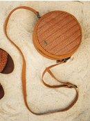 Dream State 2L - Round Faux Leather Shoulder Bag  ERJBP04077