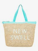 Heard That Sound - Straw Tote Bag  ERJBT03126