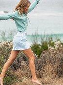 Surfing Girl Power - Denim Skirt for Women  ERJDK03019