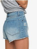 H and K Waking Up - Denim Shorts for Women ERJDS03180