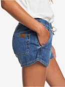 Go To The Beach - Elasticated Denim Shorts  ERJDS03213