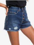 Lagos Cliff - High Waist Denim Shorts for Women  ERJDS03223