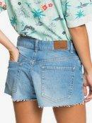 Kissing The Swell - Denim Shorts for Women  ERJDS03252