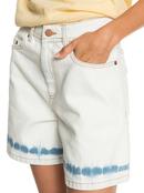 Morning Splendour Vintage - Denim Bermuda Shorts for Women  ERJDS03254