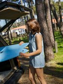 Stellar Swell - Denim Playsuit for Women  ERJDS03257