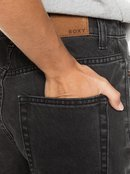 Here Its Me Black - Mom Fit Denim Shorts for Women  ERJDS03261