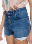 Fresh New Start - Denim Shorts for Women  ERJDS03268