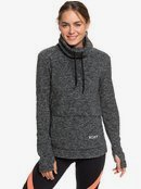 Snow Flakes Vibes - Funnel Neck Fleece for Women  ERJFT04058