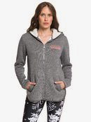 Slopes Fever B - Zip-Up Sherpa-Lined Hooded Fleece for Women  ERJFT04092
