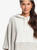 Summer Surf - Oversized Poncho Hoodie for Women  ERJFT04173
