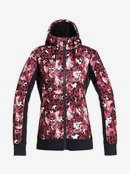 Frost Printed - Technical Zip-Up Hoodie for Women  ERJFT04212