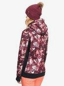 Frost Printed - Technical Zip-Up Hoodie for Women  ERJFT04212