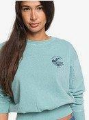 Radio Silence A - Cropped Sweatshirt  ERJFT04242