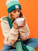 Winter Session - Knitted Beanie for Women  ERJHA03954
