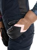 Roxy Jetty Leather - Snowboard/Ski Mittens for Women  ERJHN03180