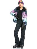Roxy Jetty - Leather Snowboard/Ski Gloves for Women  ERJHN03196