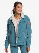 Desert Sands - Sherpa-Lined Corduroy Jacket for Women  ERJJK03319