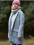 Destiny Rules - Wool Blend Coat for Women  ERJJK03322