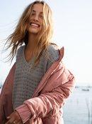 Adventure Coast - Water-Repellent Velour Puffer Jacket for Women  ERJJK03350