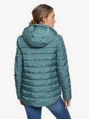 Rock Peak - Water-Repellent Hooded Puffer Jacket for Women  ERJJK03361