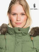 Ellie Plus Waterproof Longline Puffer Jacket ERJJK03384