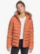 Rock Peak Fur - Water-Resistant Hooded Puffer Jacket for Women  ERJJK03392
